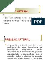 Aula de PRESSÃO ARTERIAL