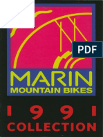 1991 Marin Bikes Catalog