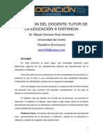 33-Formacion Del Docente-tutor de La Educacion a Distancia