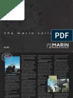 1991-2 Marin Bikes Catalog