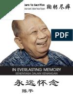 Chin Peng Sentiasa Dalam Kenangan