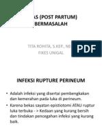 Power Pointnifas (Post Partum) Bermasalah