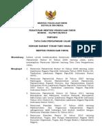 Permenpu04-2012 Tata Cara Pengawasan Jalan