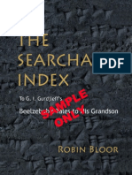 The Searchable Index to G.I. Gurdjieff's Beelzebub's Tales To His Grandson - A Sample PDF