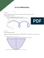 Esercizi Di Analisi II Con Mathematica