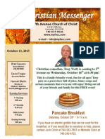 October 13 Newsletter