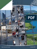 Investitii in Viitorul Europei