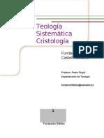 Tapas Teologia Sistematicar Cristologia