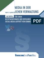 Social Media in der öffentlichen Verwaltung - 10 Tipps
