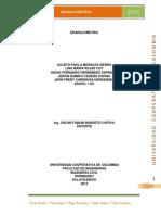 Granulometria 2013