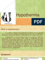 Powerpoint on Hypothermia