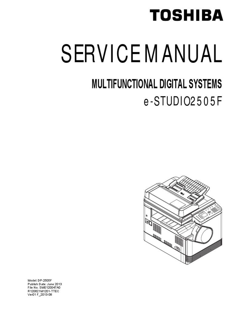 toshiba e studio 2505 f service manual image scanner electrical rh es scribd com toshiba 1560 photocopier service manual toshiba mfp user manual