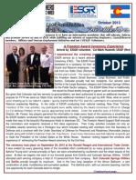 COESGR Newsletter October 2013
