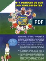 DERECHOS Y DEBERES DE LOS NIÑOS Y ADOLESCENTES