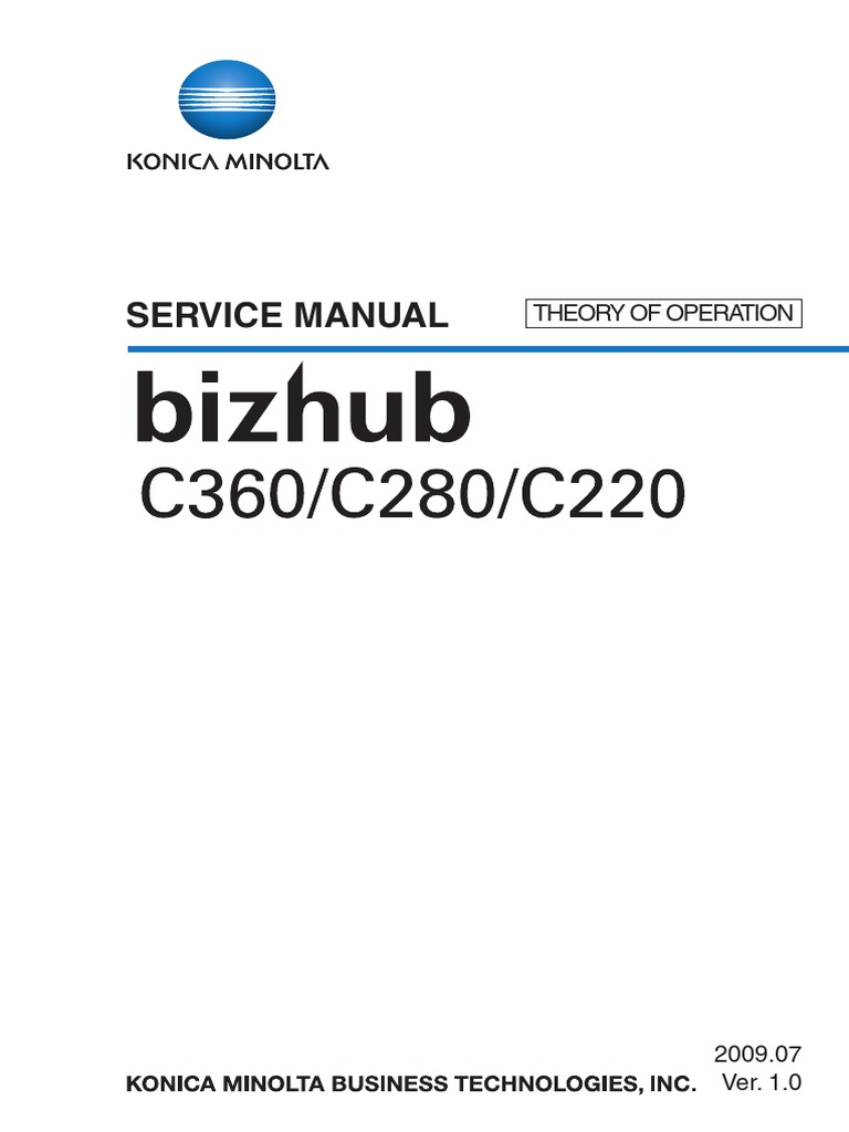 Konica Minolta Bizhub C220 C280 C360 THEORY OF OPERATION   Ac Power Plugs  And Sockets   Electrical Connector