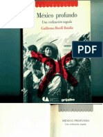 Bonfi Batalla6 Mexico Profundo Una Civilizacion Negada Guillermo Bonfil Batalla Texto Completo