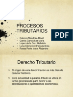 Procesos Tributarios