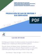 Producción de Gas de Síntesis y sus derivados