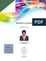 Marshad Sulaiman CV