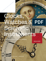 Clocks, Watches & Scientific Instruments | Historic Militaria | Skinner Auction 2684M