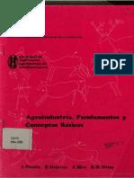 Agroindustria, Fundamentos y Conceptos Basicos