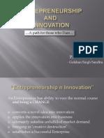 Entrepreneurship n Innovation - G1