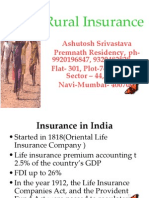 Rural Insurance in India