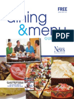 Dining & Menu Guide 2013