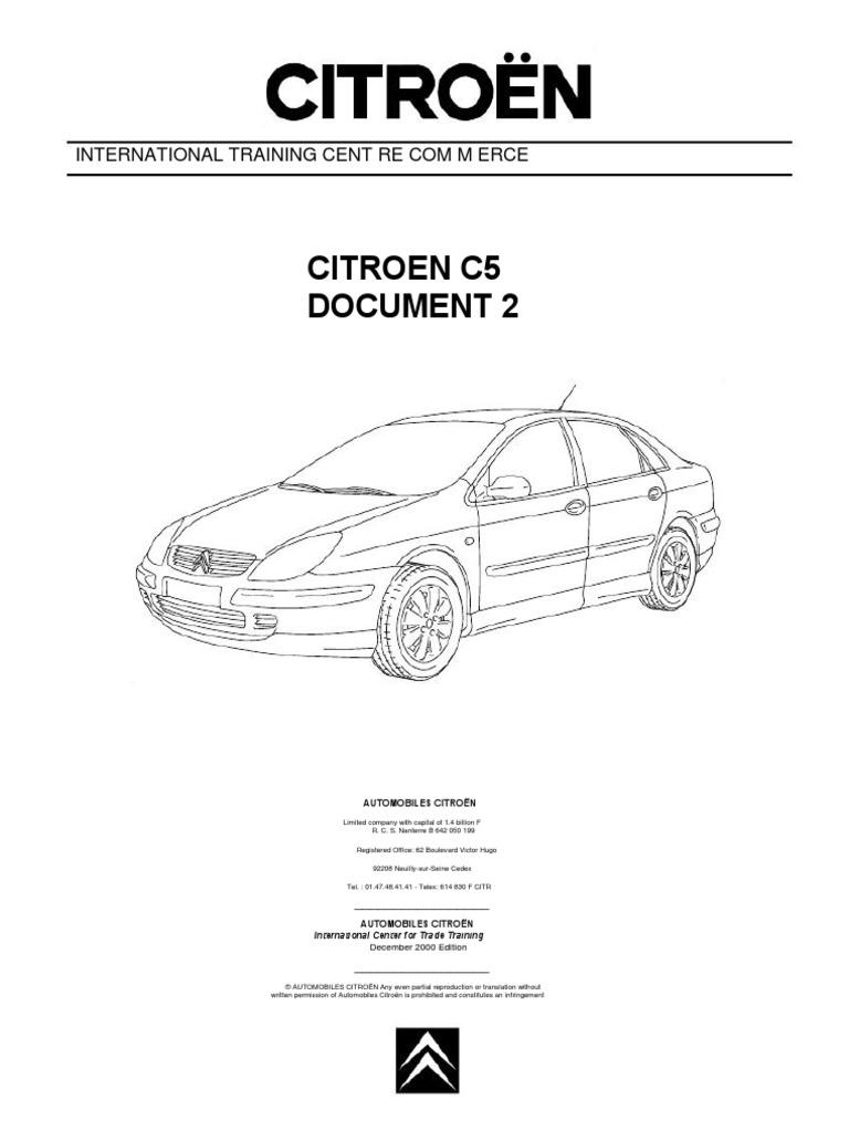 Citroen C5 Wiring Diagram Pdf Electrical House C4 Doc 2 Fr En Headlamp Car Rh Scribd Com G9
