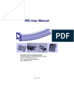IRD User Manual