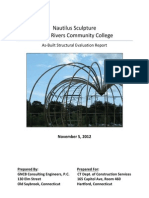 TRCC Nautilus Sculpture Final Draft Report (11/5/12)