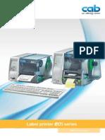 CAB EOS Series Printers Brochure