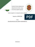 Cuenca Hidrograficas
