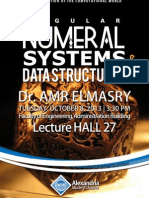 Numeral Systems and Data Structures