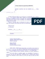 Modelo Gabarito Peca Pratica Direito Processual Penal MPSP 83o