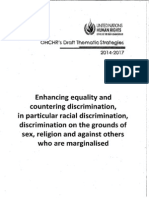 OHCHR Draft Thematic Strategies 2014-2017 - Part 1