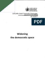 OHCHR Draft Thematic Strategies 2014-2017 - Part 2