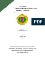 CR Nephrolithiasis Dx - Dr Akhada M. Sp.U