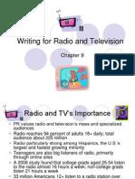 Pr Writing Ch 9 Radio Tv