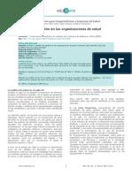 Modelos de Gestion en Las Organizaciones de Salud