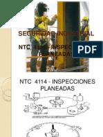 NTC  4114 - INSPECCIONES PLANEADAS