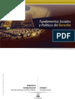 Unidad i Fundamentos Sociales y Politicos Del Derecho