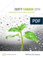 Mckinsey - Private Equity Canada Review
