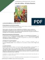 Musica Para La Sagrada Liturgia_ Los Cantos Del Ordinario de La Misa - El Padre Nuestro