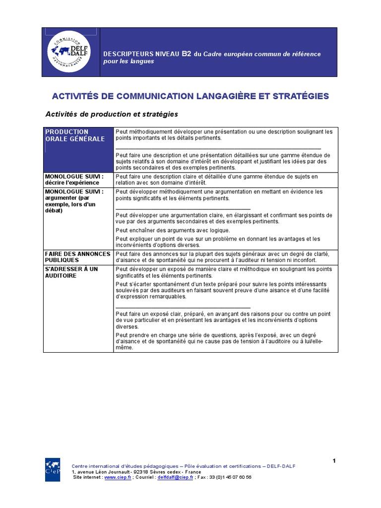 Download Syllabus Delf B2