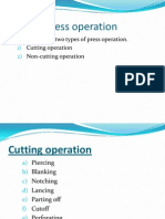 Press Operation