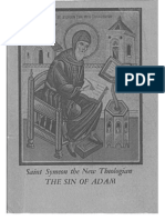 The Sin of Adam-Seven Homilies by Saint Symeon the New Theologian