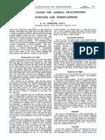Griffiths 1952 Tendovaginitis
