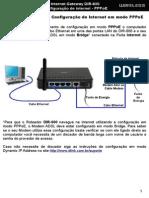DIR-600 Procedimentos Para Configuracao de Internet Em Modo PPPoE