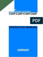 w168e11b c20p c28p c40p c60p Operation Manual
